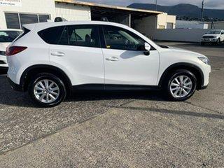 2016 Mazda CX-5 KE1022 Maxx SKYACTIV-Drive AWD Sport White 6 Speed Sports Automatic Wagon.