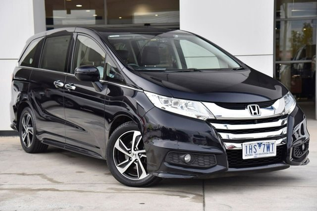 Used Honda Odyssey RC MY16 VTi-L Oakleigh, 2016 Honda Odyssey RC MY16 VTi-L Black 7 Speed Constant Variable Wagon