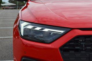 2020 Audi A1 GB MY21 35 TFSI Sportback S Tronic Red 7 Speed Sports Automatic Dual Clutch Hatchback.