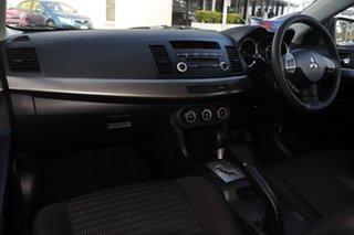 2011 Mitsubishi Lancer CJ MY12 ES Sportback White 6 Speed Constant Variable Hatchback
