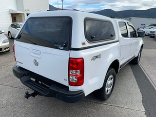 2013 Holden Colorado RG MY13 LX Crew Cab White 6 Speed Sports Automatic Utility