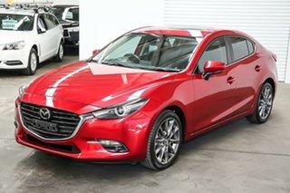 2018 Mazda 3 BN5238 SP25 SKYACTIV-Drive Astina Red 6 Speed Sports Automatic Sedan.
