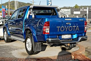 2015 Toyota Hilux KUN26R MY14 SR5 Double Cab Blue 5 Speed Automatic Utility.