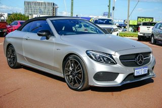2016 Mercedes-Benz C-Class A205 C43 AMG 9G-Tronic 4MATIC White 9 Speed Sports Automatic Cabriolet