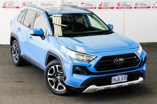 2020 Toyota RAV4 Axaa54R Edge AWD Eclectic Blue 8 Speed Sports Automatic Wagon.