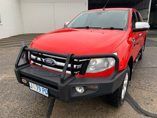 2015 Ford Ranger PX XLT Double Cab Red 6 Speed Sports Automatic Utility