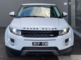 2014 Land Rover Range Rover Evoque L538 MY15 Pure White 9 Speed Sports Automatic Wagon.