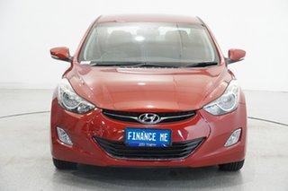 2012 Hyundai Elantra MD Elite Red Allure 6 Speed Sports Automatic Sedan.