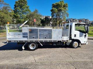 2012 Isuzu NLR200 Crane White Service Body