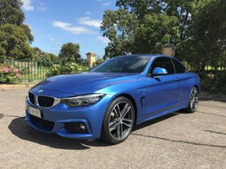 2017 BMW 4 Series F33 LCI 420i M Sport Blue 8 Speed Sports Automatic Convertible
