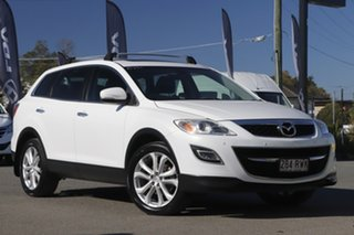 2011 Mazda CX-9 TB10A4 MY11 Luxury Snow White Pearl 6 Speed Sports Automatic Wagon.