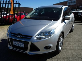 2013 Ford Focus LW MK2 Trend Silver 6 Speed Automatic Hatchback