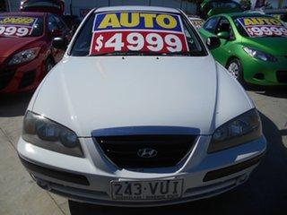 2004 Hyundai Elantra XD MY04 White 4 Speed Automatic Sedan.
