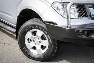 2011 Nissan Navara D40 ST-X Silver 5 Speed Automatic Utility.