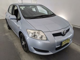 2009 Toyota Corolla ZRE152R Ascent Blue 6 Speed Manual Hatchback.