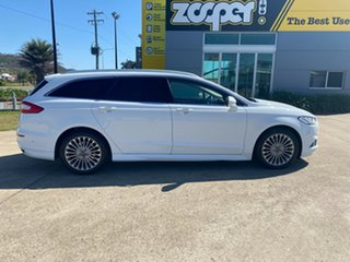 2016 Ford Mondeo MD Titanium White/270917 6 Speed Sports Automatic Dual Clutch Wagon.