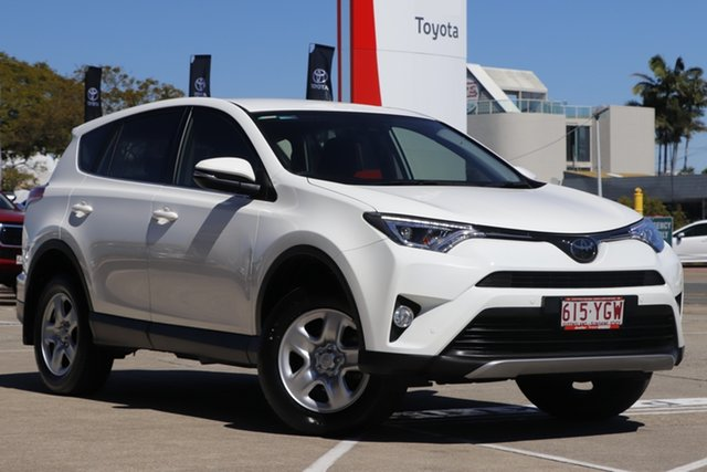 Pre-Owned Toyota RAV4 ZSA42R GX 2WD Albion, 2018 Toyota RAV4 ZSA42R GX 2WD Glacier White 7 Speed Constant Variable Wagon