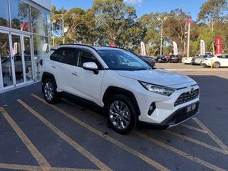 2021 Toyota RAV4 Mxaa52R Cruiser 2WD White 10 Speed Constant Variable Wagon.