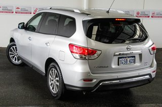 2015 Nissan Pathfinder R52 MY15 ST (4x4) Silver Continuous Variable Wagon