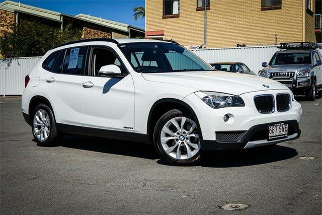Used BMW X1 E84 LCI sDrive18d Steptronic Moorooka, 2012 BMW X1 E84 LCI sDrive18d Steptronic White 8 Speed Sports Automatic Wagon