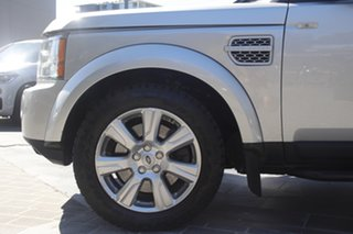 2013 Land Rover Discovery 4 Series 4 L319 MY13 SDV6 HSE Indus Silver 8 Speed Sports Automatic Wagon