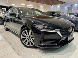 2021 Mazda 6 GL1033 Atenza SKYACTIV-Drive Black 6 Speed Sports Automatic Sedan.