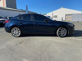 2016 Mazda 3 BM MY15 SP25 GT Blue 6 Speed Automatic Sedan.