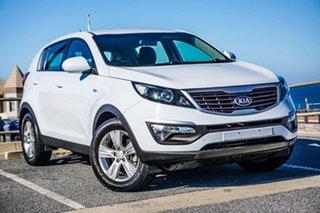 2013 Kia Sportage SL MY13 SI White 6 Speed Sports Automatic Wagon.