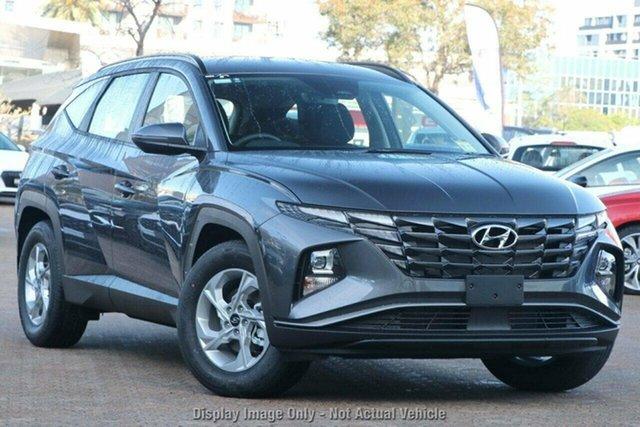 New Hyundai Tucson NX4.V1 MY22 2WD Castle Hill, 2021 Hyundai Tucson NX4.V1 MY22 2WD Titan Gray 6 Speed Automatic Wagon