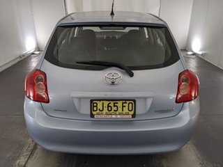2009 Toyota Corolla ZRE152R Ascent Blue 6 Speed Manual Hatchback