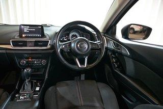 2017 Mazda 3 BN5438 SP25 SKYACTIV-Drive Blue 6 Speed Sports Automatic Hatchback