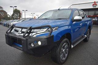 2019 Mitsubishi Triton MR MY19 GLS Double Cab Blue 6 Speed Manual Utility.