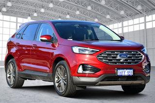 2019 Ford Endura CA 2019MY Titanium Ruby Red 8 Speed Sports Automatic Wagon.