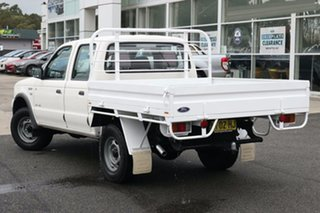 2006 Ford Courier PH (Upgrade) GL Crew Cab 4x2 White 5 Speed Automatic Utility.