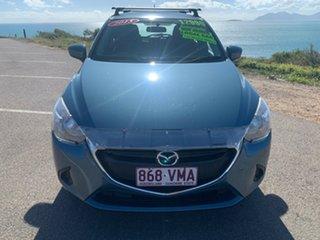 2015 Mazda 2 Blue 6 Speed Automatic Hatchback.