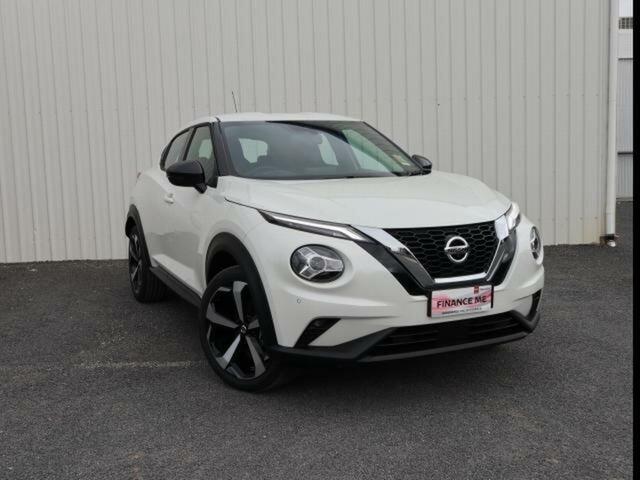 New Nissan Juke F16 ST-L Wangaratta, 2021 Nissan Juke F16 ST-L Ivory Pearl 7 Speed Automatic Wagon