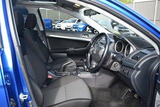 2008 Mitsubishi Lancer CJ MY08 VR-X Blue 5 Speed Manual Sedan