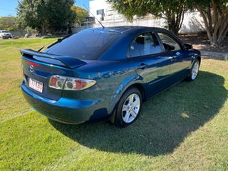 2006 Mazda 6 GG1032 Classic Green 5 Speed Sports Automatic Hatchback