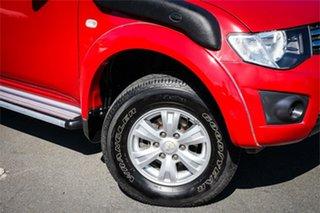 2013 Mitsubishi Triton MN MY13 GLX Double Cab Red 4 Speed Sports Automatic Utility.