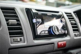 2007 Toyota HiAce TRH201R LWB White 5 Speed Manual Van