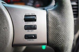 2011 Nissan Navara D40 ST-X Silver 5 Speed Automatic Utility