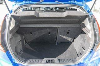 2015 Ford Fiesta WZ MY15 Sport Blue 5 Speed Manual Hatchback