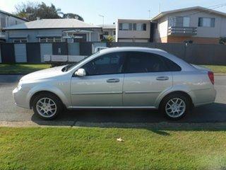 2008 Holden Viva JF Silver 4 Speed Automatic Sedan
