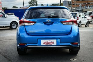 2015 Toyota Corolla ZRE182R Ascent Sport S-CVT Blue 7 Speed Constant Variable Hatchback