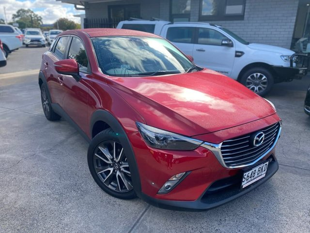 Used Mazda CX-3 DK2W7A sTouring SKYACTIV-Drive Hillcrest, 2016 Mazda CX-3 DK2W7A sTouring SKYACTIV-Drive Red 6 Speed Sports Automatic Wagon