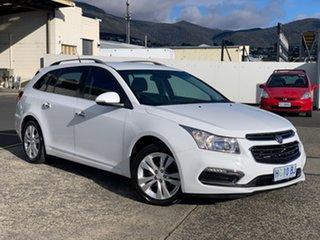 2016 Holden Cruze JH Series II MY16 CDX Sportwagon White 6 Speed Sports Automatic Wagon.