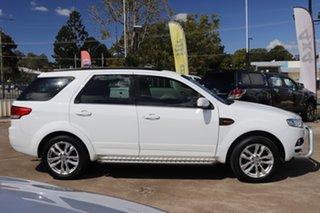2013 Ford Territory SZ TS Seq Sport Shift White 6 Speed Sports Automatic Wagon.