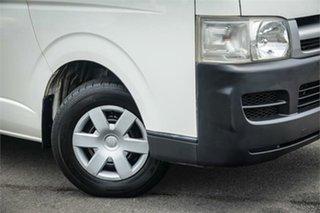2007 Toyota HiAce TRH201R LWB White 5 Speed Manual Van.