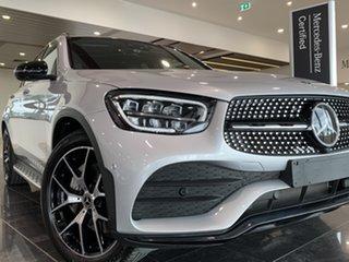 2019 Mercedes-Benz GLC-Class X253 800MY GLC200 9G-Tronic Silver 9 Speed Sports Automatic Wagon.