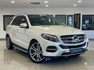 2017 Mercedes-Benz GLE-Class W166 808MY GLE500 e 7G-Tronic + 4MATIC White 7 Speed Sports Automatic.